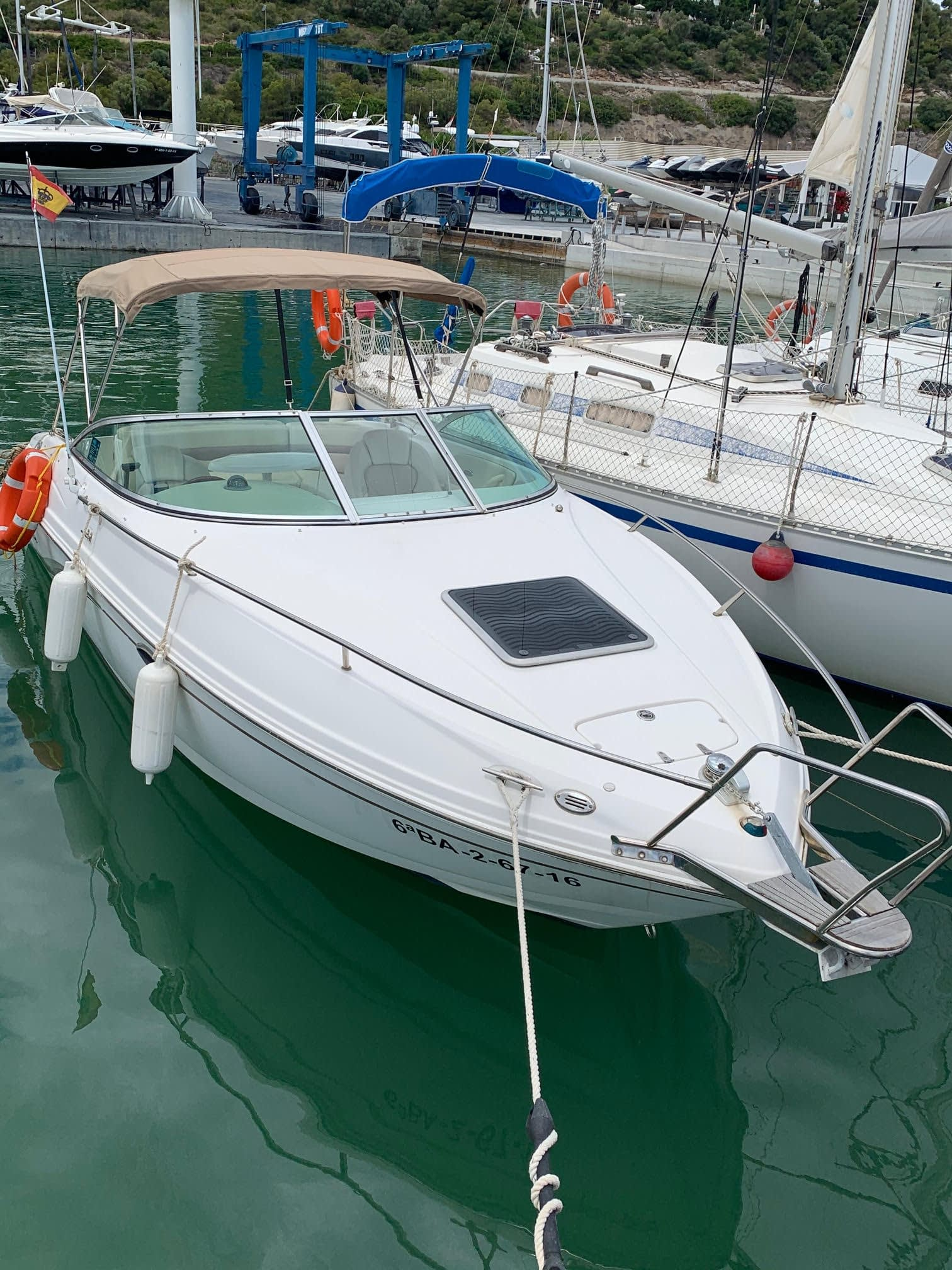 alquiler barcos Castelldefels
