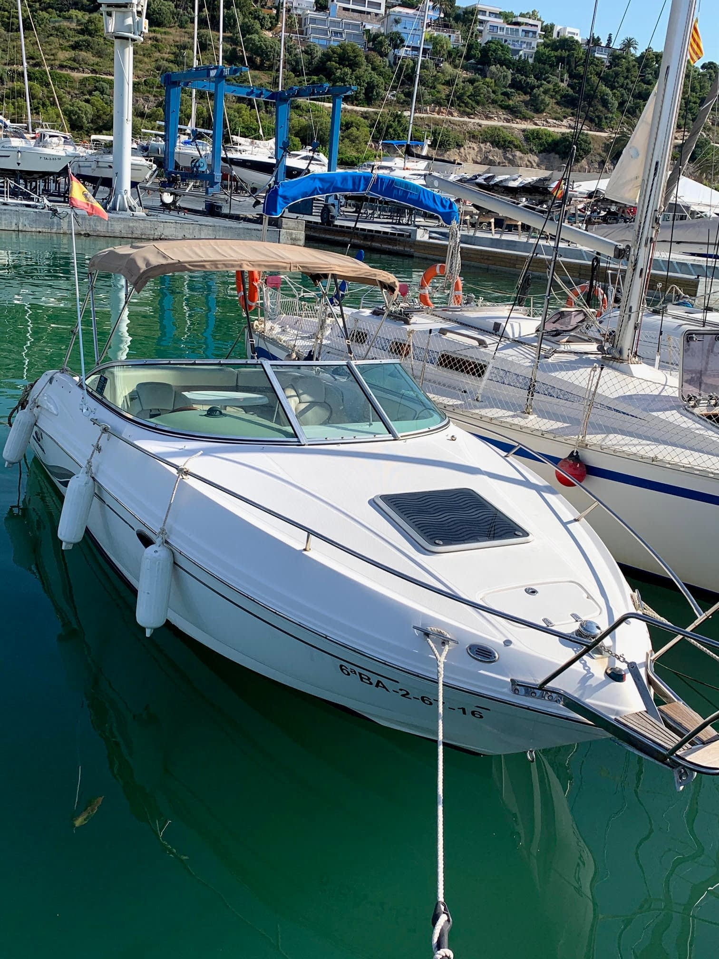 alquiler embarcaciones Castelldefels